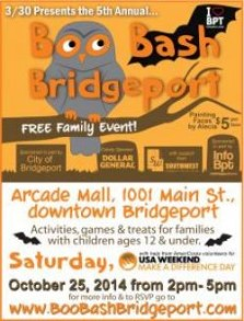 Boo Bash at the Arcade Mall in Bridgeport