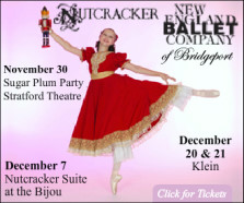 New England Ballet's Nutcracker December 20-21, 2014