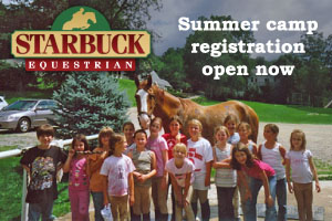 Starbuck Equestrian Summer Camp
