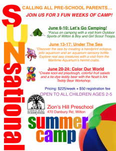 Zion S Hill Camp Kids Out And About Fairfield County Ct